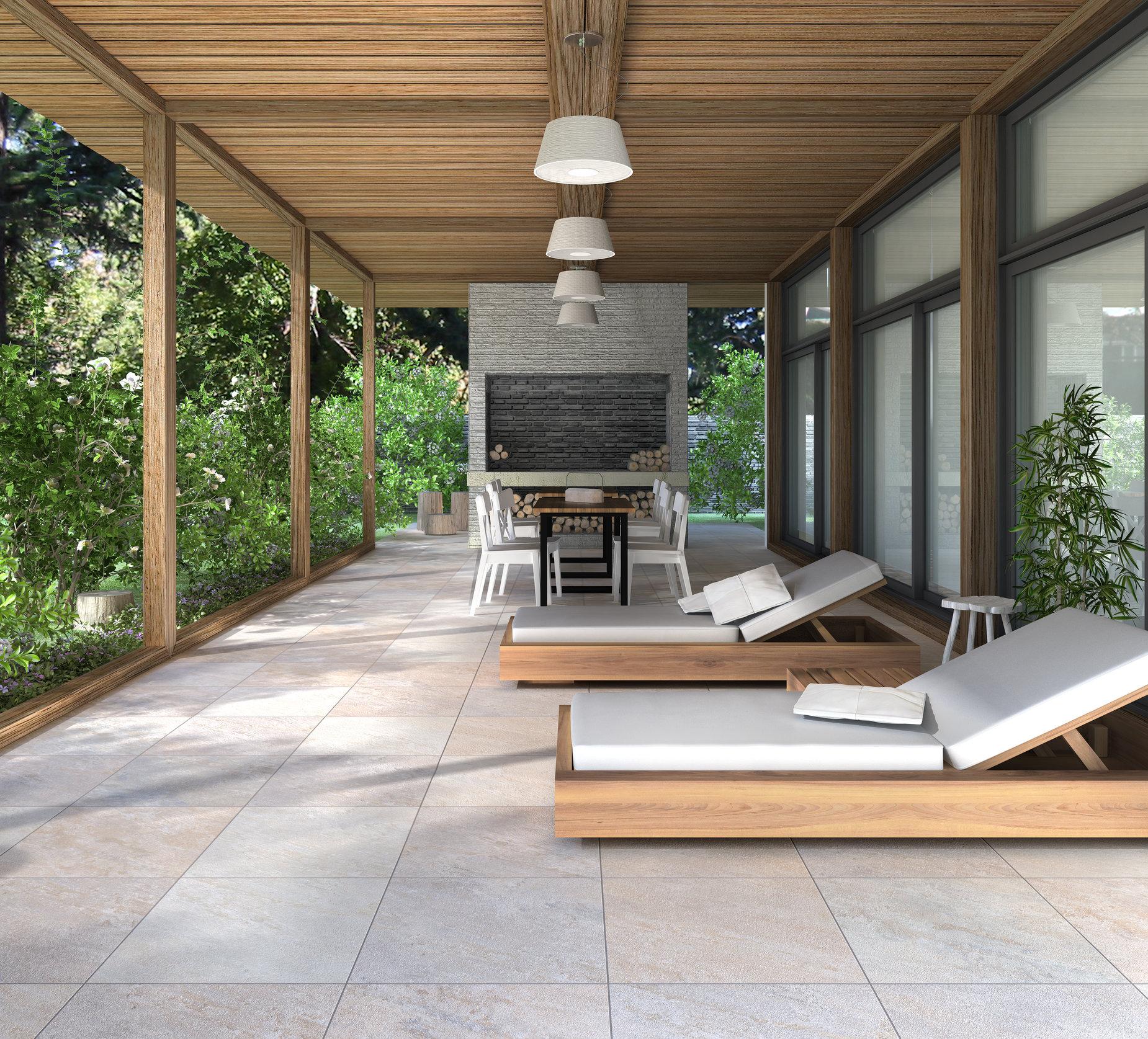 Azulejos para patios trendy best with azulejos rusticos for Azulejos patio exterior